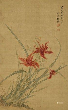 张盘 (1812-?) 花卉