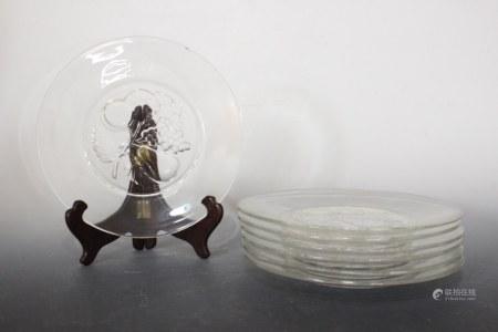 7 Glass Plates