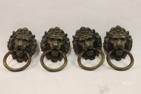 Four Door Knobs