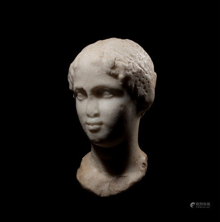 Greek Bust of Cleopatra