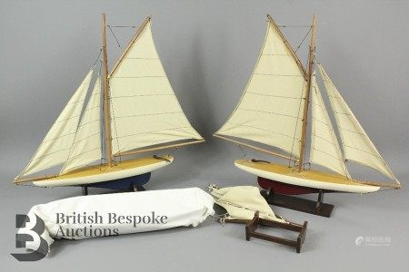 Authentic Models Pond Yachts