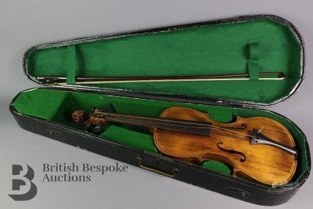 Early 20th Century Czech Violin