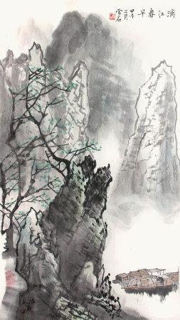 白雪石 灕江春早