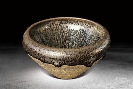 宋 建窯油滴碗