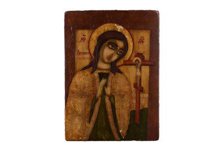 MADOHA 木板雕刻 耶穌像