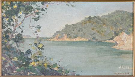 Kiah Lajaohr 風景 油畫