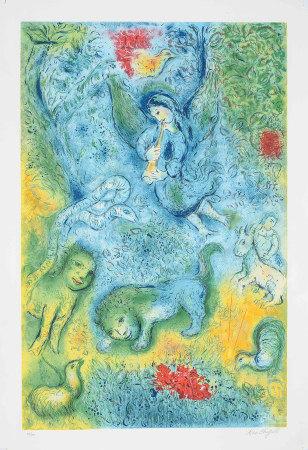 馬克·夏加爾 魔笛 版畫