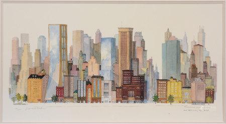 Leonard Weber 紐約 版畫