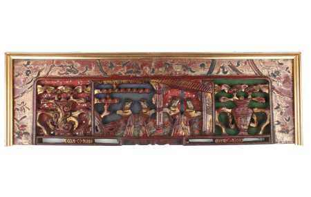 Holzrelief, China 1. Hälfte 20. Jahrhundert, chinese wood carving,Holzrelief, China 1