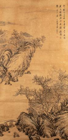 CHA SHIBIAO (1615-1698), LANDSCAPE