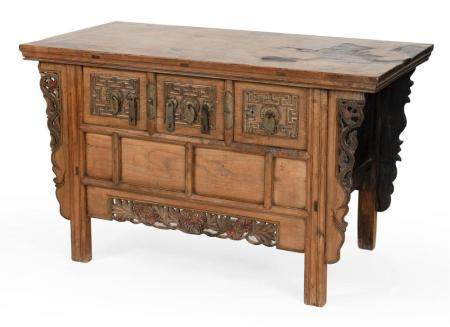 CHINESE ALTAR TABLE 20th Century