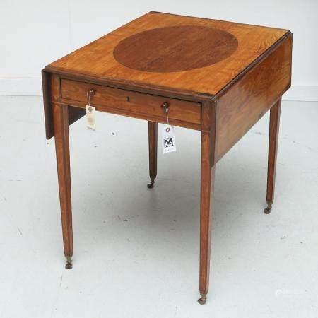George III Pembroke table c. 1790
