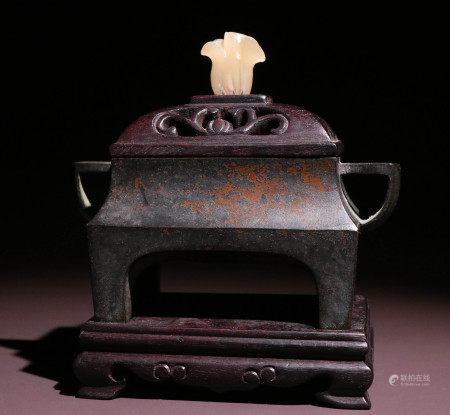 明代铜胎香薰炉