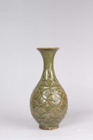 Yaozhou Kiln Porcelain Bottle