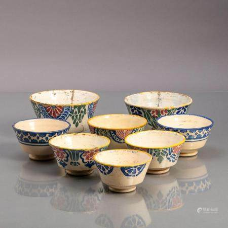 EIGHT MISCELLANEOUS BOWLS