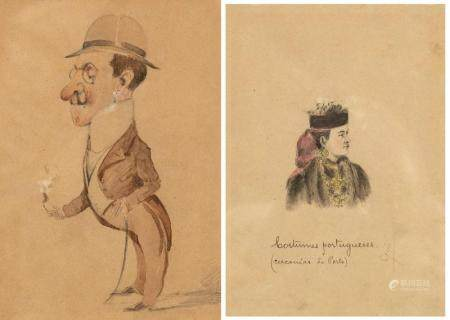 PORTUGUESE CARICATURE AND COSTUMES
