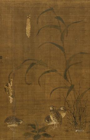 呂紀(1477-不詳) 鶉之圖