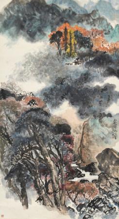 李瓊久 (1907-1990) 山雨欲來