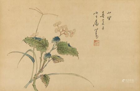 溥儒(1896-1963)清韻圖