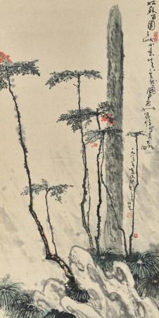 張仁芝(b.1935) 憶寫留園小景
