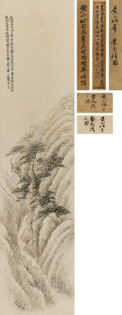 黃易(1744-1802)黃花棧圖
