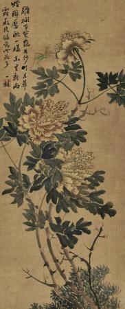 鄒一桂(1686-1772) 秋菊圖