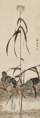 邊壽民 (1684-1752) 蘆雁