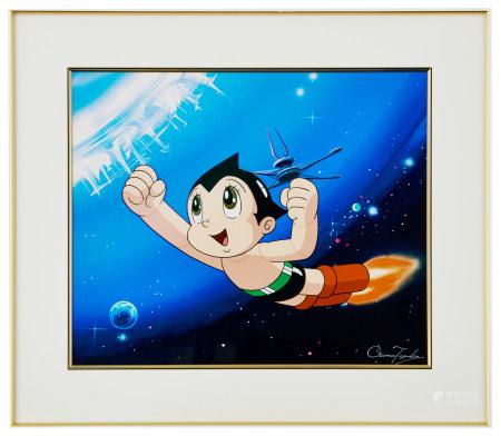 手塚治蟲「阿童木」 紀念版畫