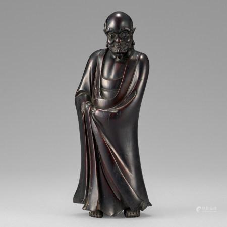 木雕羅漢像