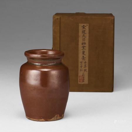 宋代 紫金釉小壺