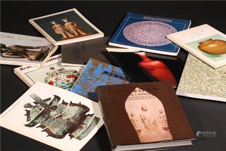中國珍貴文物等圖冊一組