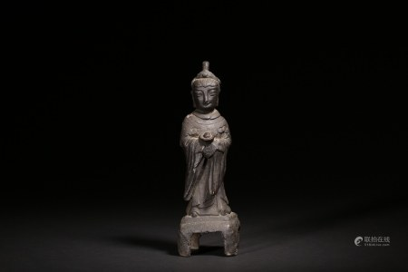 明 銅媽祖像