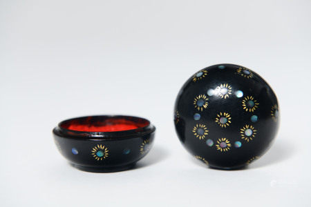 MOP Inlaid Lacquer Box