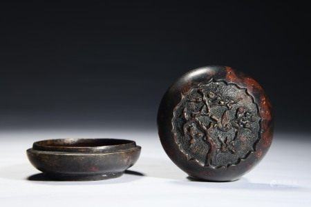 Bronze Circular Box