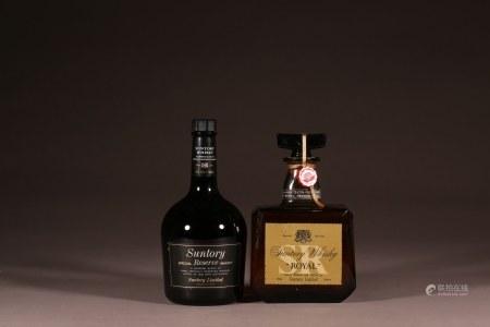 三得利威士忌2瓶