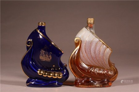 帆船干邑白蘭地2瓶