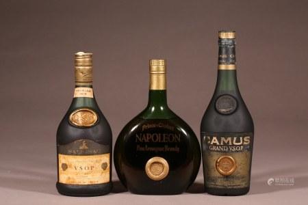 特級白蘭地3瓶