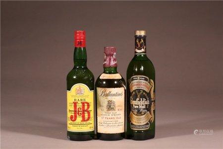 蘇格蘭威士忌3瓶