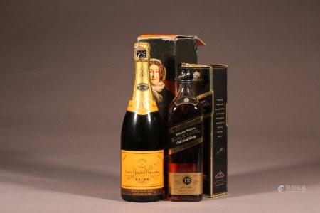 Reims香檳,尊尼获加黑標威士忌