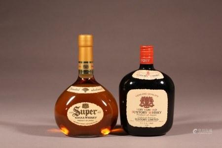 Nikka特級威士忌,三得利特級威士忌