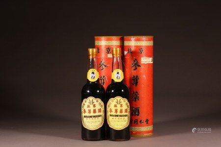 北京同仁堂藥酒2瓶