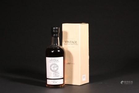 軽井沢蒸留所 Vintage1981-2003威士忌