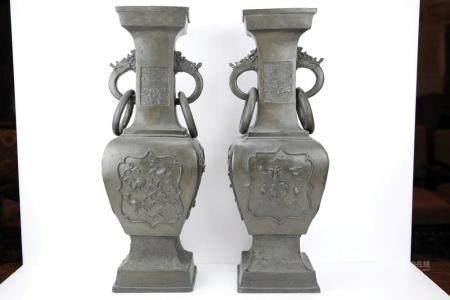 Paire de vases d'offrande
