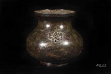Vase de forme Hu