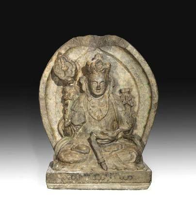 Stèle Bouddhique