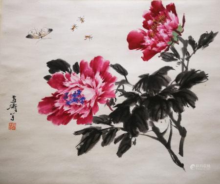 近現代 王雪濤 花卉