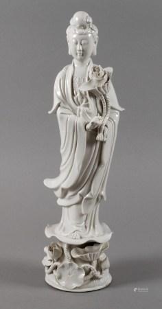 Porzellanfigur Guanyin