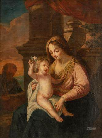 No visible signature, the Madonna holding the Holy