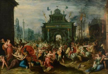 Sebastiaen Vrancx (attributed to), 'The Rape of the