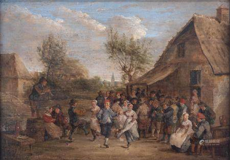 No visible signature, 'The Peasant Wedding', in the